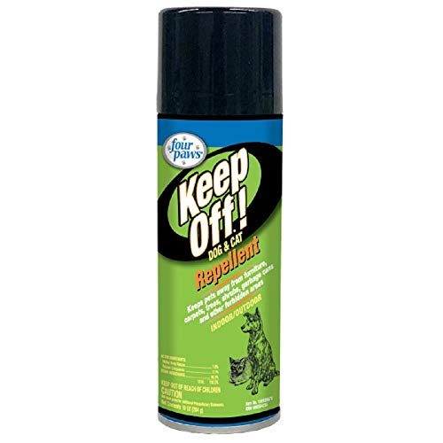 Four Paws - Keep off repelente para perros y gatos, Aerosol, 473ML