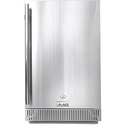 Blaze 20-Inch 4.1 Cu. Ft. Outdoor Rated Compact Refrigerator -...