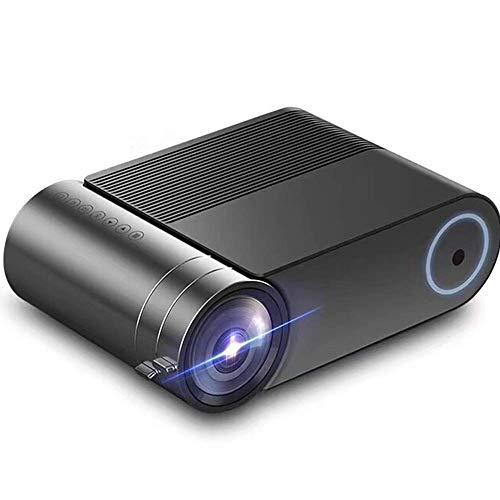 Negocios Micro Proyector LED, Ligero y portátil for Proteger los Ojos con la reflexión difusa Principio, 138-pulgadas de Pantalla soporta la conexión de múltiples Dispositivos ZHNGHENG