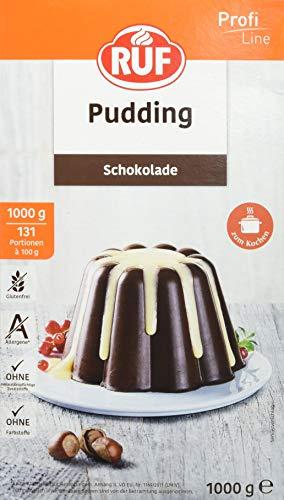 RUF Puddingpulver Schokolade, 1er Pack (1 x 1000 g)