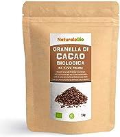Rauwe Biologische Cacaobonen Stukjes 1 Kg. Organic Raw Cacao Nibs. 100% Bio, Natuurlijk en Zuiver. Geproduceerd in Peru...