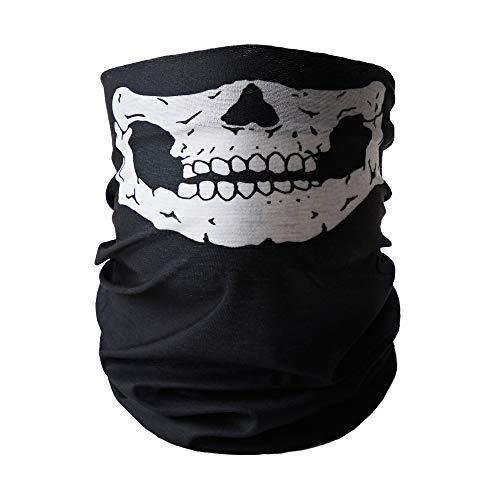 Cyzlann Face Scarf Mask Neck Gaiter Sun Protection Breathable Bandana For Women and Men (476A)