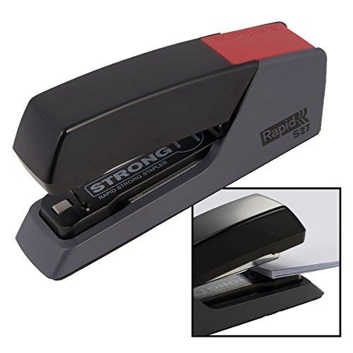 Rapid Stapler S27 Steel SuperFlat-Clinch Desk Stapling Less Effort Easy Papers