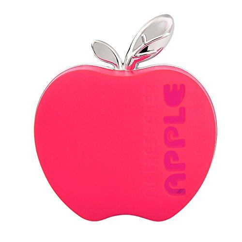 Holdream Auto Lufterfrischer Apfelform Auto Parfüm Orange Zitrone Apfel Erdbeere Lavendel (pink)
