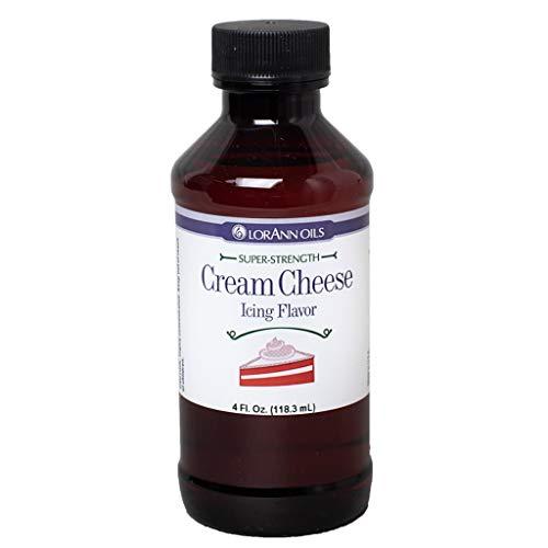 LorAnn Cream Cheese Icing Super Strength Flavor, 4 ounce bottle