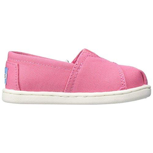 TOMS Unisex Baby Alpargata Classic Espadrilles, Pink (Bubblegum Pink Canvas 650), 21 EU