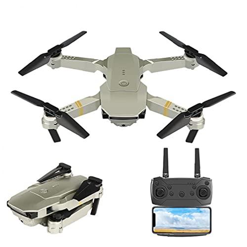 Yililay GPS Drone RC Quadcopter Drone con cámara HD para Adultos 4K FPV Control Remoto Plegable sin Cabeza para Entrenamiento Platinum-4K-1 Batería