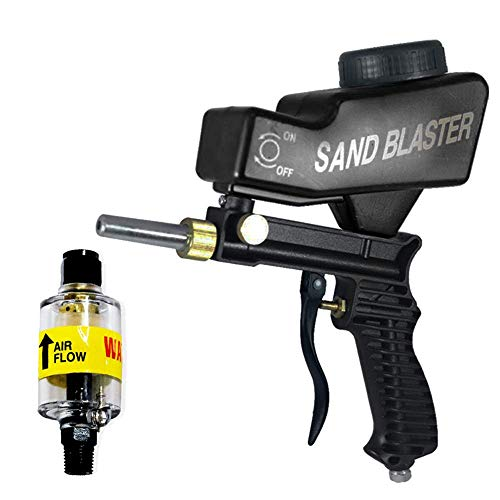 Find Discount Sandblaster and inline air compressor filter combo