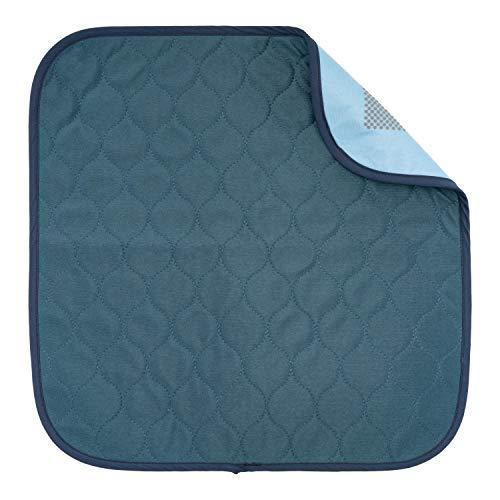 Sensalou Inkontinenz Stuhlunterlage Sitzunterlage wasserdicht waschbar 45x45 blau