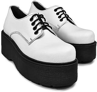 Altercore Spell Zapatos Mujer Plataforma Blanco Vegan de Tacón Alto