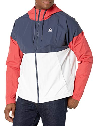 Reebok Herren Training Essentials Windbreaker Jacket Jacke, Rebel Red, X-Small
