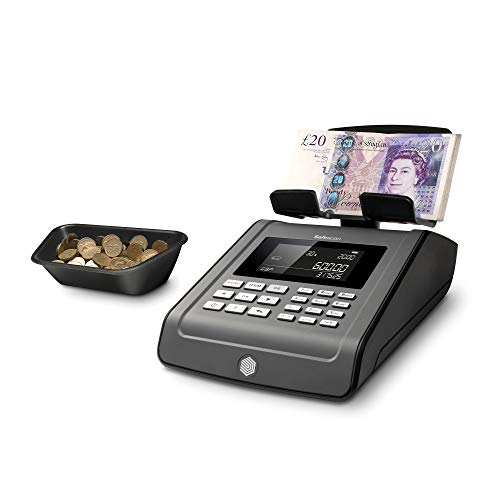 Safescan 6185 - Avanzada balanza contadora de dinero para monedas y billetes