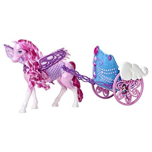 Barbie - Carroza y Caballo Pegaso (Mattel Y6382)