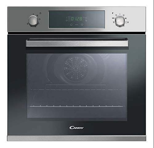 Candy FCPK606X Electric oven 65L 3000W A Acero inoxidable - Horno (Medio, Horno eléctrico, 65 L, 3000 W, 65 L, Pirolítico)