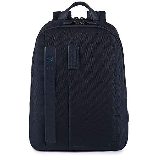 Piquadro P16 Laptop-Rucksack 40 cm blue
