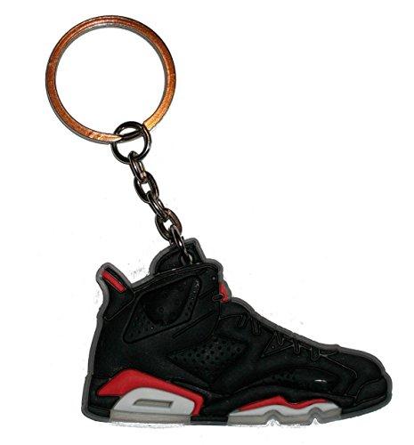 Air Jordan 6 Porte-clés Noir/infrarouge