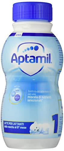 Aptamil 1 Latte Liquido per Lattanti - Confezione da 12 x 500 ml