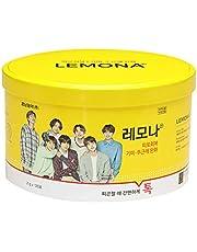 BTS LEMONA 円形缶(120包)防弾少年団 レモナビタミン パッケージランダム [並行輸入品]