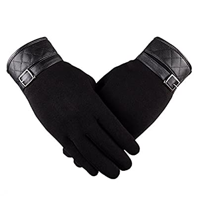 Eashar Mens Glove NEW TouchScreen Cold Weather Thick lining Driver Outdoor Gloves