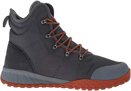 Columbia Men's Fairbanks Omni-Heat Ankle Boot, Graphite, Dark Adobe, 13 Regular US