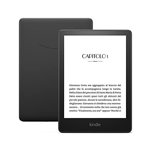 Nuovo Kindle Paperwhite (8 GB) - Ora con schermo da 6,8'' e tonalità della luce regolabile, senza pubblicità
