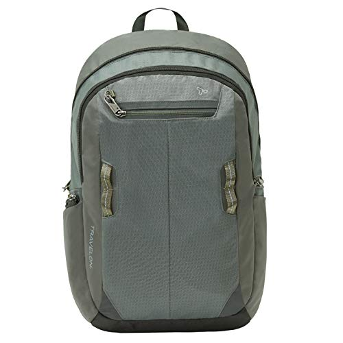 Travelon Anti-Theft Active Daypack, Charcoal, One Size