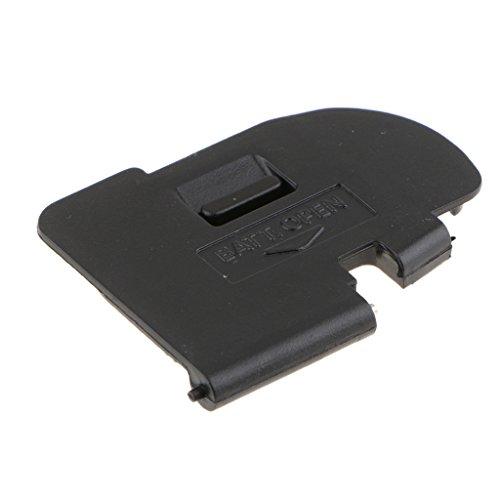 perfk Coperchio dello Sportello della Batteria per Canon EOS 5d Mark II 5d2- Accessori per Coperchio della Batteria in Plastica Resistente-Nero