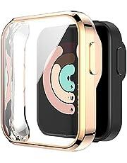 xllLU Anti-kras TPU Horloge Case Screen Beschermende Cover Protector voor -Xiaomi Mi Horloge Lite Redmi Horloge Smart Horloge Accessoires Case Protector Bumper