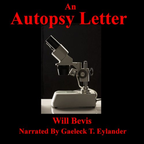 An Autopsy Letter audiobook cover art