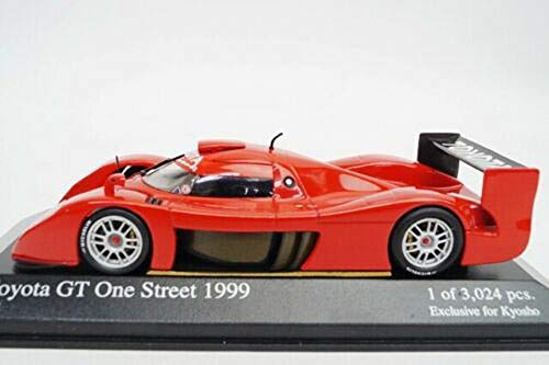 Toyota GT One Street 1999 1:43 Minichamps for Kyosho