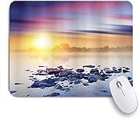 マウスパッド 個性的 おしゃれ 柔軟 かわいい ゴム製裏面 ゲーミングマウスパッド PC ノートパソコン オフィス用 デスクマット 滑り止め 耐久性が良い おもしろいパターン (魔法の幽霊の森)