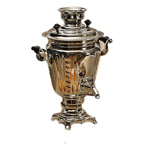 "Electric Samovar ""Silver"" Traditional Russian Tea Maker"