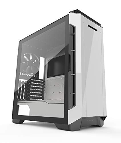 Phanteks Eclipse P600S Hybrid Silent and Performance ATX Chassis -Tempered Glass, Fabric Filter, Dual System Support, PWM hub, Sound dampening Panels, Glacier White (PH-EC600PSTG_WT01)