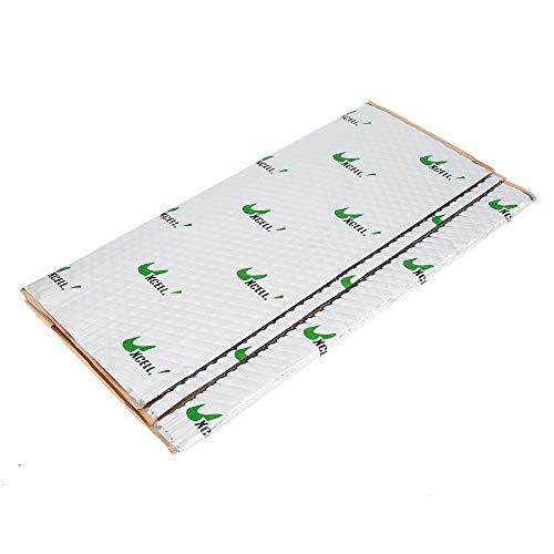 uxcell 2pcs 80mil 5sqft Car Sound Deadener Heat Insulation Mat Pad Damping...