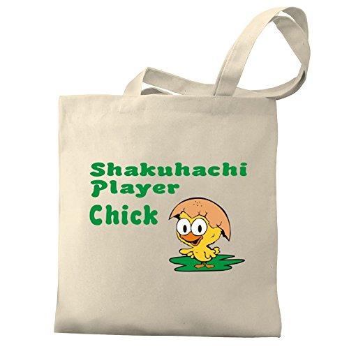 Eddany Shakuhachi Player Chick Bereich für Taschen