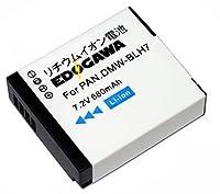 EDOGAWA PANASONIC DMW-BLH7対応互換バッテリー ED-BAT225851