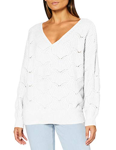 Teddy Smith 31514953D Sweater, Middle White, Medium Femme