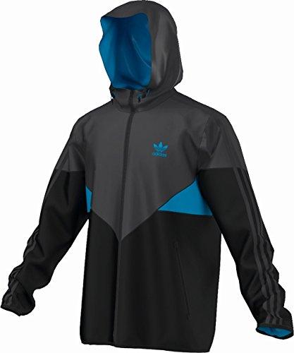 Adidas Originals COLORADO Wind breaker Black f77765 Carbonio/nero S