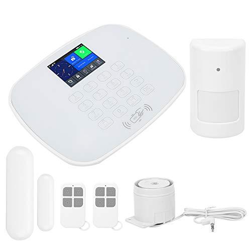 Sistema de Alarma casero, Equipo del Sistema de Seguridad de WiFi gsm GPRS de la Alarma antirrobo con el Empuje del App(YO)