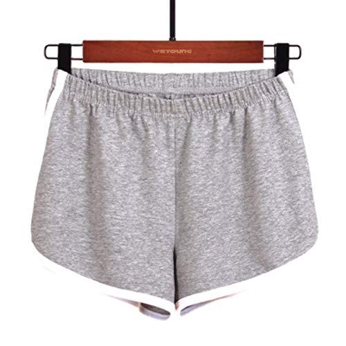 Pantalones Cortos Casuales para Mujer, Cintura elástica, Ropa para el hogar, Pantalones de Pijama, cómodos, Yoga, Gimnasio, Baile, Pierna Ancha XXL