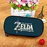 QIANMA Portafoglio Zelda The Legend of Zelda Astuccio per matite di Grande capacità Astuccio per cancelleria Astuccio per Cosmetici