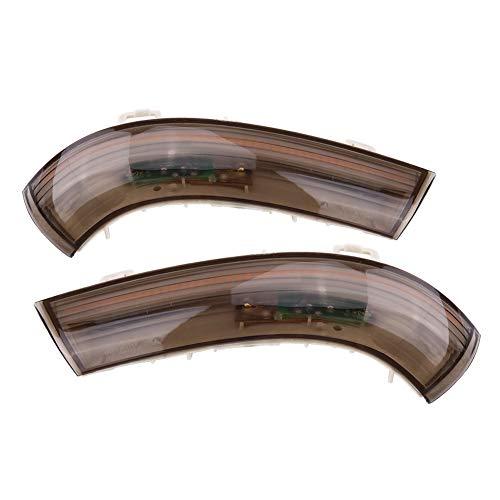 Achteruitkijkspiegel, knipperlicht, LED-richtingaanwijzer zijvleugel achterlicht voor Golf 5 Jetta MK5 Passat B6