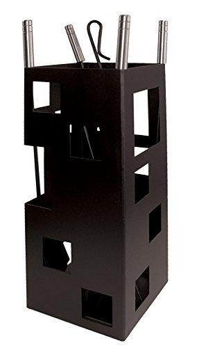 Imex el zorro 10098 - Camino gioco, quadrato (acciaio inox, 50 x 20 x 20 cm) di colore nero utile