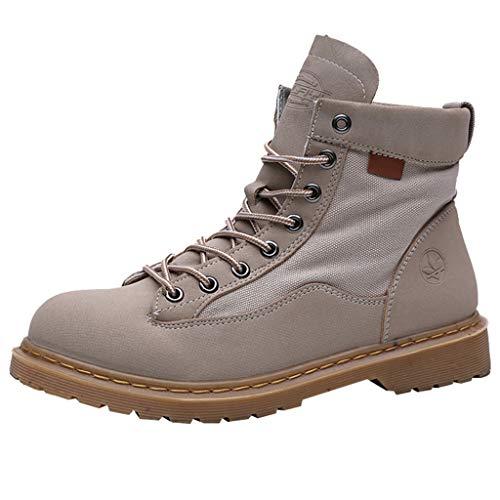 Heren Sneeuw Laarzen Herfst Winter Warm Enkel Laarzen Outdoor Anti-Slip Wandelen Wandelen Werk Laarzen Sneakers Lederen Enkel Laarzen