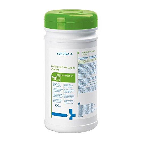 mikrozid® AF Jumbo Desinfektionstücher, Fläche, Spenderdose mit 200 wipes