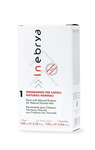 Perm Kit 1 Mono-Dose - Permanente Per Capelli Naturali Normali - 100ml+120ml - Inebrya