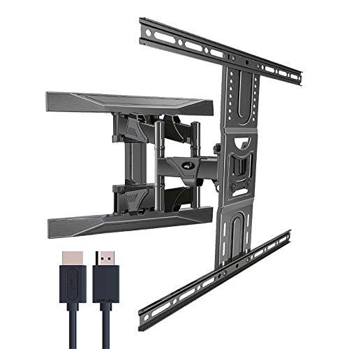 """Suporte Multiarticulado de Parede Para Tvs Led, LCD, Plasma - 32"""" a 82"""" - ELG, Movev6Hdmi , preto"""
