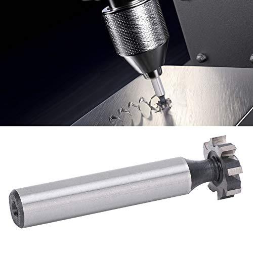 Tgleufsnijder stabiele structuur 4 mm Woodruffsleutelzittingsnijder duurzaam voor staal aluminium koper ijzer