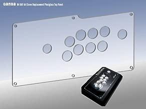 Qanba Q4 Clear Plexi Overlay for custom artwork