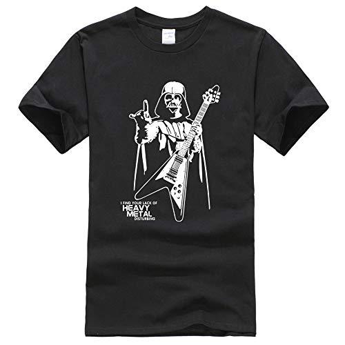 HNOSD Camisetas Verano Manga Corta Hombres Camiseta Heavy Metal Divertido patrón Ropa Harajuku Camiseta Hombres Tops Camisetas